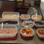 Cowlick - ice cream toppings