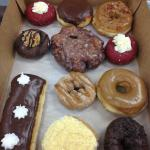 Our selection of donuts