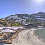 Santa Marina Mykonos - Private Beach View