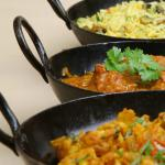 Balti dishes to choose from