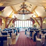 Wedding in the Oak Room Restaurant at Dainton Park Golf Club