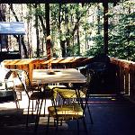 cabin 10 porch