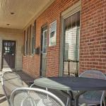 Enjoy our outside seating