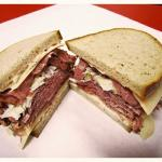Pastrami on Rye is a local favorite