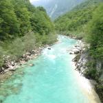 river in kobarid