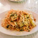 Green Papaya Salad was excellent!