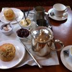 A serious cream tea