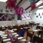 60th birthday party at Sasso-perfect food,perfect hosts,perfect venue