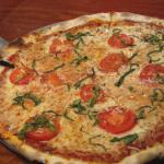 Pizza Margherita - a customer favorite
