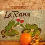 "LA RANA is ""the frog"", a small bistro in Decorah, Iowa"