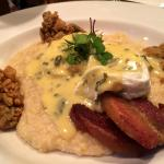Brunch oysters, grits and pork belly!