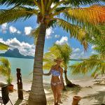Tanoa's private beach