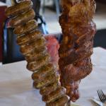 Pork ribs and Home made Pork sausage
