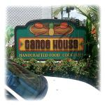 Canoe House Sign