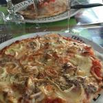 pizza , dessert ,