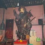 Presumably the statue of Jade Emperor who the temple was named after