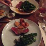 so yummy  Vegetables with Chateaubriand to share