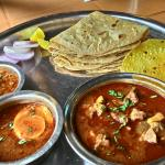 The authentic thali