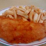 Cod and chips!