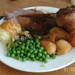 My carvery meal