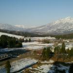 妙高山の眺めは最高です。