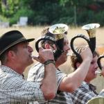 The Alp Horns, part of De Vossenberg Hotel entertainement.