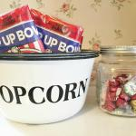 Popcorn is ready to pop