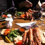 Langoustines at The Smithfield, Dounby