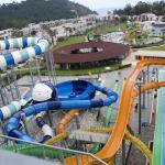 The Aqua park.