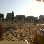 Dalla spiaggia