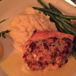 Stuffed Atlantic Salmon