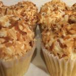 Creamy Coconut cupcakes!