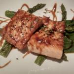 Salmon with Japanese souce