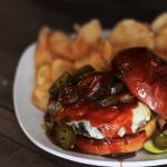 Jalapeno Pepperjack Burger