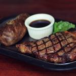 Plain steak