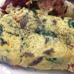 Greek omelette - Fantastic.