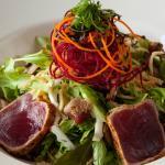 Shichimi Seared Ahi Salad