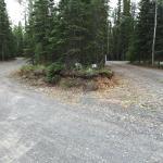 A pull thru site