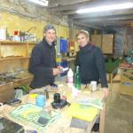 In the Workshop with Sean