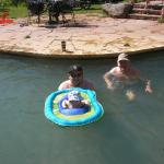 Float for babies in the big pool.