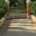 Secure entry gate