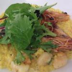 King Prawns with Coucous
