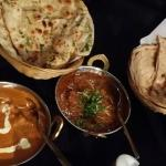 best combination of naan with  butter chicken... so delicious
