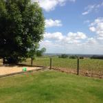 Prachtig terras en tuin met panoramisch zicht!
