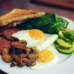 Build you own breakfast  Liverpool city centre Dale street eatery
