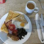 Standard breakfast