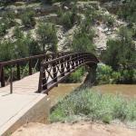 Villanueva State park - Bridge