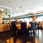A portion of Grand Gem's large dining area