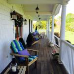 Front Porch of the Coffey House B&B