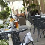 Outdoor Patio at Latitude 41